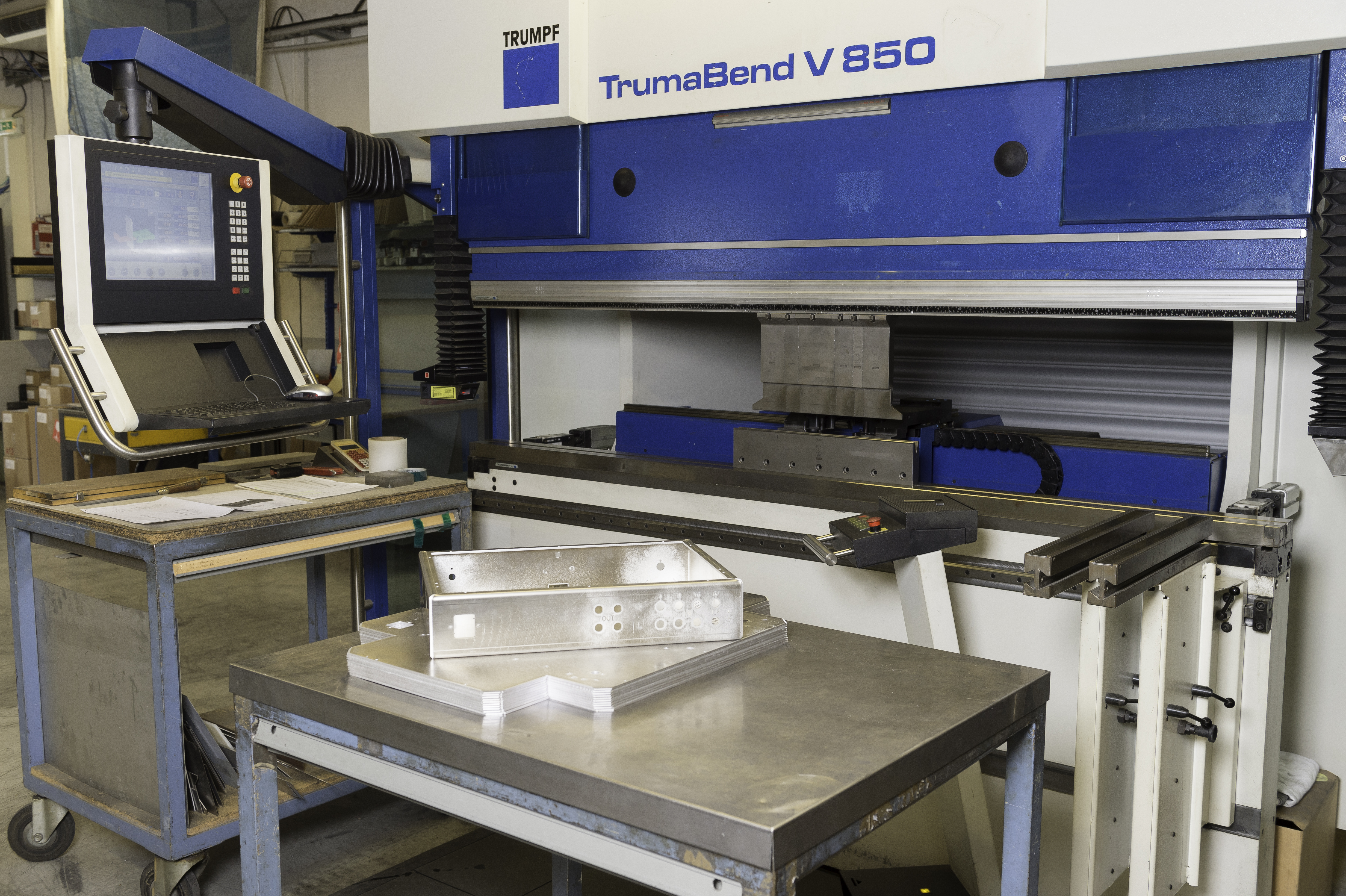 machine pliage Trumpf TrumaBend V 850