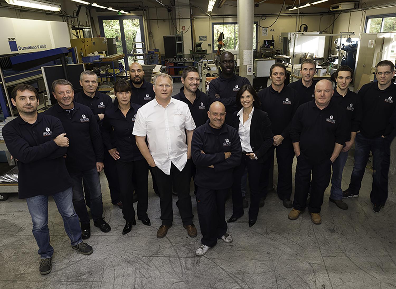 équipe leloutre industrie